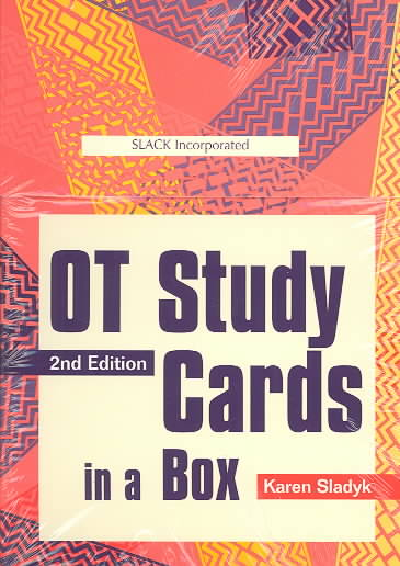Ot Study Cards in a Box By Sladyk, Karen (EDT)